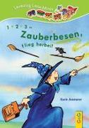 Cover-Bild zu Ammerer, Karin: LESEZUG/ Lese-Minis: 1, 2, 3 - Zauberbesen, flieg herbei