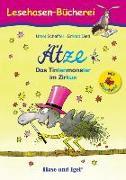 Cover-Bild zu Ätze - Das Tintenmonster im Zirkus / Silbenhilfe von Scheffler, Ursel