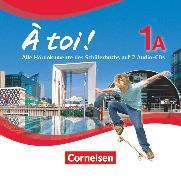 Cover-Bild zu À toi !, Fünfbändige Ausgabe, Band 1A, Audio-CDs von Gregor, Gertraud