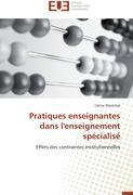Cover-Bild zu Pratiques enseignantes dans l'enseignement spécialisé von Marechal-C