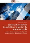 Cover-Bild zu Banque Et Promotion Immobilière: La Gestion Du Risque de Crédit von Gourdon-J