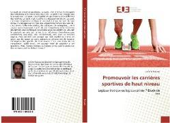 Cover-Bild zu Promouvoir les carrières sportives de haut niveau von Robyns-J
