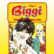 Cover-Bild zu Biggi, Folge 1: Wettbewerb in Sachen Liebe (Audio Download) von Mennigen, Peter