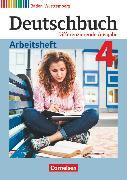 Cover-Bild zu Deutschbuch, Sprach- und Lesebuch, Differenzierende Ausgabe Baden-Württemberg 2016, Band 4: 8. Schuljahr, Arbeitsheft mit Lösungen von Fogt, Dorothea