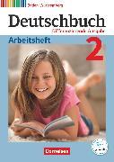 Cover-Bild zu Deutschbuch, Sprach- und Lesebuch, Differenzierende Ausgabe Baden-Württemberg 2016, Band 2: 6. Schuljahr, Arbeitsheft mit Lösungen von Fogt, Dorothea