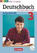 Cover-Bild zu Deutschbuch, Sprach- und Lesebuch, Differenzierende Ausgabe Baden-Württemberg 2016, Band 3: 7. Schuljahr, Arbeitsheft mit Lösungen von Fogt, Dorothea