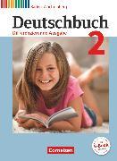 Cover-Bild zu Deutschbuch, Sprach- und Lesebuch, Differenzierende Ausgabe Baden-Württemberg 2016, Band 2: 6. Schuljahr, Schülerbuch von Birner, Sylvia