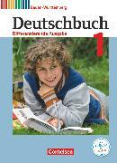Cover-Bild zu Deutschbuch, Sprach- und Lesebuch, Differenzierende Ausgabe Baden-Württemberg 2016, Band 1: 5. Schuljahr, Schülerbuch von Birner, Sylvia