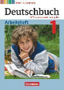 Cover-Bild zu Deutschbuch, Sprach- und Lesebuch, Differenzierende Ausgabe Baden-Württemberg 2016, Band 1: 5. Schuljahr, Arbeitsheft mit Lösungen von Fogt, Dorothea
