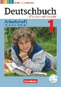 Cover-Bild zu Deutschbuch, Sprach- und Lesebuch, Differenzierende Ausgabe Baden-Württemberg 2016, Band 1: 5. Schuljahr, Arbeitsheft mit interaktiven Übungen auf scook.de, Mit Lösungen von Fogt, Dorothea