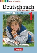 Cover-Bild zu Deutschbuch, Sprach- und Lesebuch, Differenzierende Ausgabe Baden-Württemberg 2016, Band 1: 5. Schuljahr, Servicepaket mit CD-ROM, Didaktische Hinweise, differenzierende Kopiervorlagen, Klassenarbeiten von Birner, Sylvia