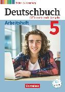 Cover-Bild zu Deutschbuch, Sprach- und Lesebuch, Differenzierende Ausgabe Baden-Württemberg 2016, Band 5: 9. Schuljahr, Arbeitsheft mit Lösungen