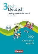 Cover-Bild zu 3fach Deutsch, Differenzierungsmaterial auf drei Niveaustufen, 5./6. Jahrgangsstufe, Grammatik und Stil, Kopiervorlagen mit CD-ROM von Bonora, Susanne
