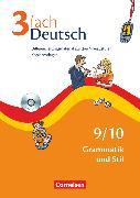 Cover-Bild zu 3fach Deutsch, Differenzierungsmaterial auf drei Niveaustufen, 9./10. Jahrgangsstufe, Grammatik und Stil, Kopiervorlagen mit CD-ROM von Bonora, Susanne