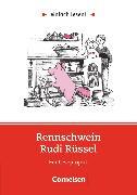 Cover-Bild zu Einfach lesen!, Leseprojekte, Leseförderung: Für Lesefortgeschrittene, Niveau 1, Rennschwein Rudi Rüssel, Ein Leseprojekt nach Uwe Timm, Arbeitsbuch mit Lösungen von Kock-Engelking, Dorit