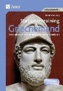 Cover-Bild zu Stationentraining Griechenland von Lang, Rosemarie