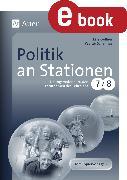 Cover-Bild zu Politik an Stationen Klasse 7 u. 8 (eBook) von Gellner, Lars