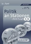 Cover-Bild zu Politik an Stationen 5-6 von Gellner, Lars