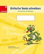 Cover-Bild zu Einfache Texte schreiben von Prusse, Daniela