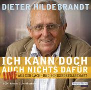 Cover-Bild zu Ich kann doch auch nichts dafür von Hildebrandt, Dieter