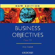 Cover-Bild zu Business Objectives New Edition: Class Audio CD von Hollett, Vicki
