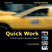 Cover-Bild zu Quick Work Pre-Intermediate: Audio CD von Hollett, Vicki