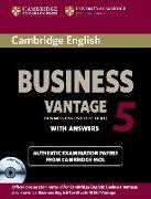 Cover-Bild zu Cambridge English Business 5. Vantage. Self-study with answere von Cambridge ESOL