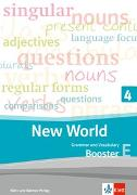 Cover-Bild zu New World 4. Grammar and Vocabulary, Booster 4E