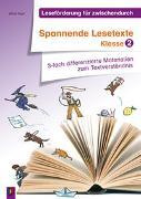 Cover-Bild zu Leseförderung für zwischendurch: Spannende Lesetexte - Klasse 2 von Kurt, Aline