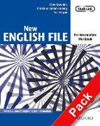 Cover-Bild zu Pre-Intermediate: New English File: Pre-intermediate: Workbook with key and MultiROM Pack - New English File von Oxenden, Clive