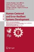 Cover-Bild zu Bogdan, Cristian (Hrsg.): Human-Centered and Error-Resilient Systems Development (eBook)