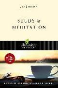 Cover-Bild zu Johnson, Jan: Study and Meditation (eBook)