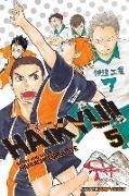 Cover-Bild zu Haruichi Furudate: Haikyu!!, Vol. 5