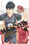 Cover-Bild zu Haruichi Furudate: Haikyu!!, Vol. 8