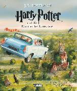 Cover-Bild zu Harry Potter, Band 2: Harry Potter und die Kammer des Schreckens (vierfarbig illustrierte Schmuckausgabe) von Rowling, Joanne K.