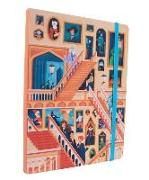 Cover-Bild zu Harry Potter: Exploring Hogwarts ? The Grand Staircase Notebook von Insight Editions