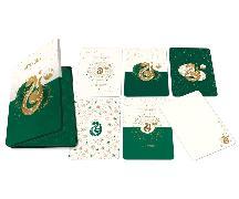 Cover-Bild zu Harry Potter: Slytherin Constellation Postcard Tin Set (Set of 20) von Insight Editions