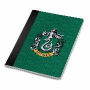 Cover-Bild zu Harry Potter: Slytherin Notebook and Page Clip Set von Insight Editions