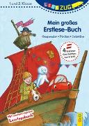 Cover-Bild zu Ammerer, Karin: LESEZUG/1.-2. Klasse: Mein großes Erstlese-Buch - Gespenster, Piraten, Detektive