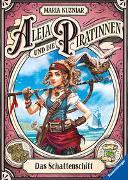 Cover-Bild zu Aleja und die Piratinnen, Band 1: Das Schattenschiff von Kuzniar, Maria