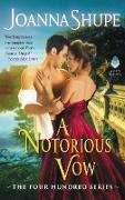 Cover-Bild zu A Notorious Vow von Shupe, Joanna