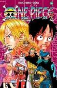 Cover-Bild zu One Piece 84 von Oda, Eiichiro