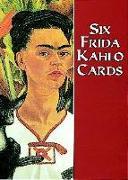 Cover-Bild zu Six Frida Kahlo Cards von Kahlo, Frida