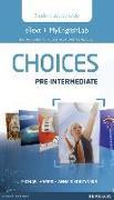 Cover-Bild zu Choices Pre-Intermediate eText & MEL Access Card