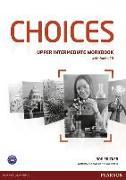 Cover-Bild zu Choices Upper Intermediate Workbook (with Audio CD) von Fricker, Rod
