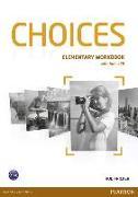 Cover-Bild zu Choices Elementary Workbook (with Audio CD) von Fricker, Rod