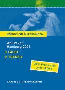 Cover-Bild zu Abitur Deutsch Hamburg 2021 - Königs Erläuterungen-Paket von Goethe, Johann Wolfgang von