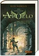 Cover-Bild zu Die Abenteuer des Apollo 3: Das brennende Labyrinth von Riordan, Rick