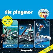 Cover-Bild zu Die Playmos - Das Original Playmobil Hörspiel, Die große Weltall-Box, Folgen 29, 36, 48 (Audio Download) von Fickel, Florian