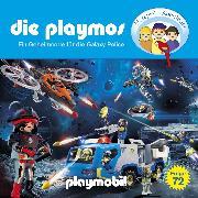 Cover-Bild zu Die Playmos, Folge 72: Ein Geheimcode für die Galaxy Police (Das Original Playmobil Hörspiel) (Audio Download) von Fickel, Florian